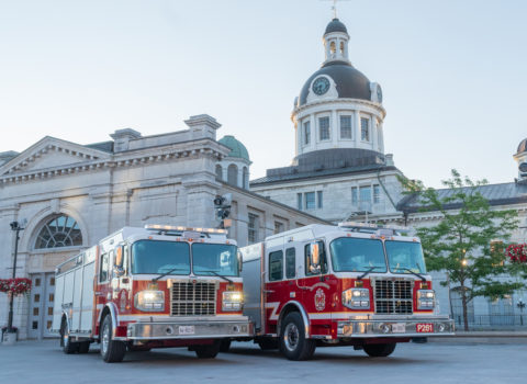 The Kingston Pumper Truck Photo Session