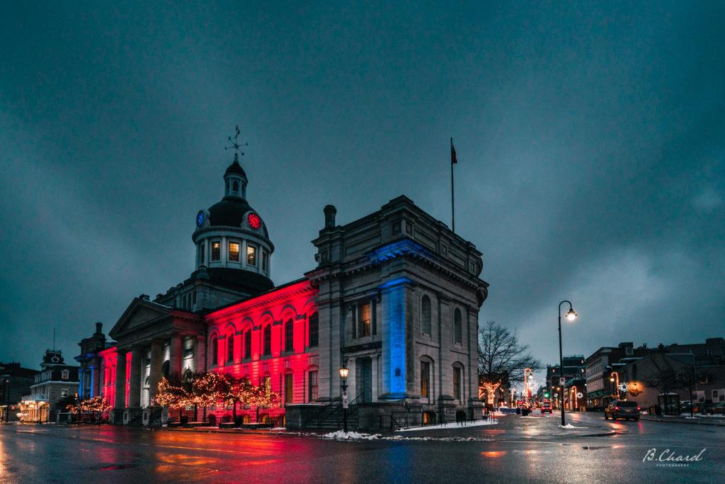 Downtown Kingston and City Hall